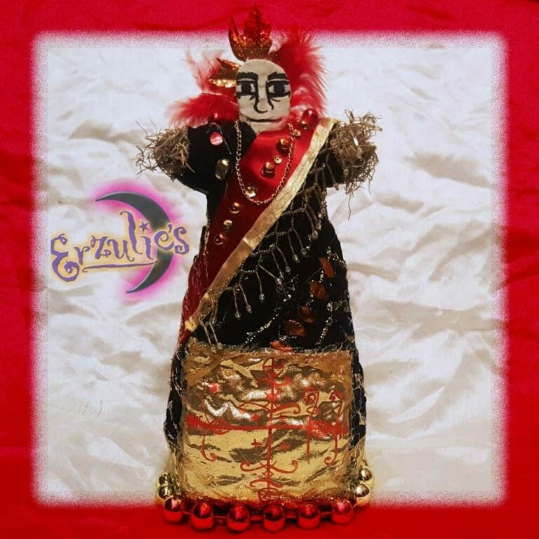 Voodoo Veve Dolls for Papa Legba ~ Road Opening Voodoo Dolls