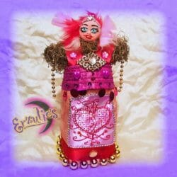 Voodoo Veve Dolls for Erzulie-Freda ~ Love & Passion Voodoo Dolls