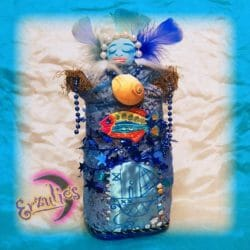 Voodoo Veve Dolls for LaSiren ~ Calming & Healing Voodoo Dolls