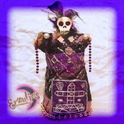Voodoo Veve Dolls for Ghede ~ Justice & Transistion Voodoo Dolls