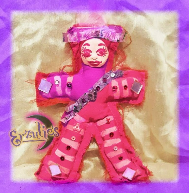 Voodoo Poppet Dolls for Erzulie-Freda ~ Love & Passion Voodoo Dolls