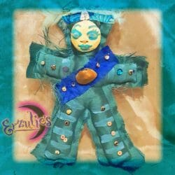 Voodoo Poppet Dolls for LaSiren ~ Calming & Healing Voodoo Dolls