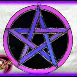 """Witchcraft Spells & Magic ~ Power"""" Stained Glass Witchcraft Magic"""""""