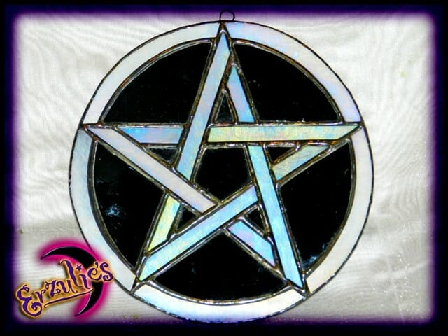 """Witchcraft Spells & Magic ~ Protection"""" Stained Glass Witchcraft Magic"""""""