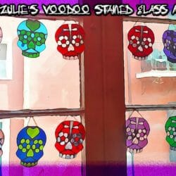 Stained Glass Voodoo Dolls & Glass Magic