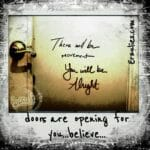 Powerful message written behind a bathroom door at a tango venue last night (as we do in 'Nawlins lol!) ~ had to share with all of you...seemed like a very specific message for many of us to remember today. Hope you love.